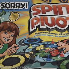 Hasbro Sorry Spin Pivot Board Game NEW - Packaging Has Issues
