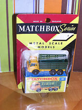 Vintage Lesney Matchbox RARE BLISTER BOX #4 Stake Truck GOOD SHAPE SHOWS 4 MANY!