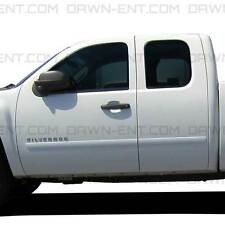 For: SILVERADO 1500 EXT CAB; PAINTED Body Side Moldings Mouldings Trim 2007-2013