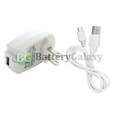 USB Micro Cord+Wall Charger Plug for Samsung Galaxy A3 A5 A7 J3 Amp 2 Prime On5