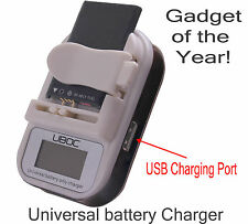 Novatel Mifi 2200 2352 2372  Universal Battery Charger Super Fast Shipping