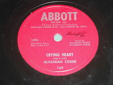 Alvadean Coker: Crying Heart / I Sold Out My Heart 78 - Country Bopper