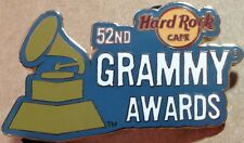 Hard Rock Cafe ONLINE 2010 52nd GRAMMY AWARDS PIN LE 300 - HRC Catalog #52425