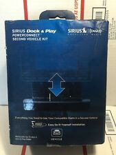 Black SIRIUS-XM SADV2  Universal Dock and Play Vehicle Kit with PowerConnect