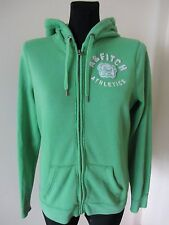ABERCROMBIE & FITCH Women hooded Jumper Sweatshirt LARGE *deffective*