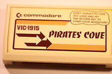 COMMODORE VIC-1910 VIC 20 GAMES PIRATES COVE (GAME ONLY)