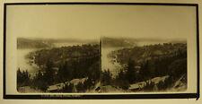 Plaque Verre Stéréo Turquie Constantinople Bosphore Lévy Férrier 1860/65