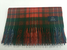 Clans of Scotland Wilson Ancient Tartan 100% Lambswool Scarf New With Tags