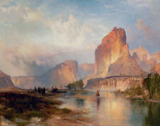 Moran Thomas Cliffs Of Green River Amon Print 11 x 14   # 4942