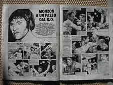 CARLOS MONZON BRISCOE BOXING FUMETTO S.TOPPI COMICS BD CORRIERE DEI RAGAZZI 1972