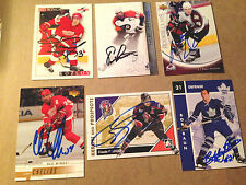 Eric Lindros SIGNED 07/08 UPPER DECK SP AUTHENTIC card PHILADELPHIA FLYERS