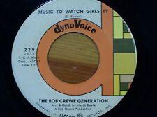 "BOB CREW GENERATION 45 RPM ""Music to Watch Girls By"" ""Girls on the Rocks"" VG"