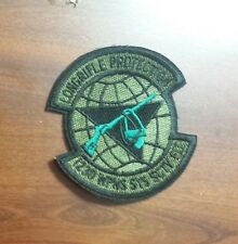USAF FLIGHT SUIT PATCH, 1230TH WEAPONS SYSTEMS SECURITY SQUADRON
