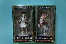 SEGA PRIZE HG Figure Sword Art Online SAO Set of 2 Asuna Yuki & Yui UFO Japan