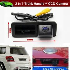 2 in 1 Trunk Handle + Reverse Parking Camera For Ford Focus hatchback 2009-2011