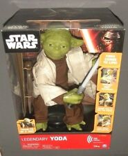 Star Wars Legendary Yoda Jedi Master Interactive Talking Figure Lights & Sounds