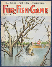 Magazine *Fur-Fish-Game* APRIL, 1979 !!! *SECRET TROUT*, *BASS FISHING* !!!