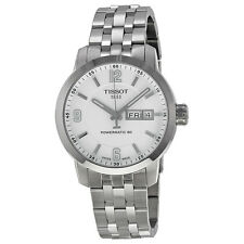 Tissot PRC 200 Powermatic 80 Automatic White Dial Stainless Steel Mens Watch