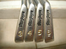 Macgregor VIP Tour CB92 Forged 3-P Golf Irons Stiff.  AND, V-Foil 56* and 60*
