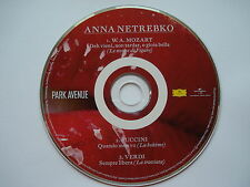 ANNA NETREBKO  __  SEMPRE LIBERA __  3 Track PROMO CD  __  FOR COLLECTORS !
