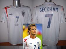 England Beckham World Cup 06 Shirt Jersey Football Soccer Umbro Adult XL Man Utd