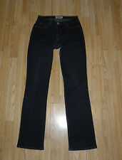 Black Denim CROCKER ORIGINALS Zip Straight Leg Stonewashed Jeans Size L Grunge
