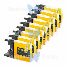 9 YELLOW LC71 LC75 NON-OEM Ink for BROTHER MFC-J430W LC-71 LC-75 LC71Y LC75Y