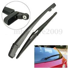 Rear Windscreen Windshield Wiper Blade And Arm Set For VAUXHALL OPEL CORSA D MK4
