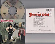 The Dictators - Go Girl Crazy! CD (1975 Album Reissue) Power-Pop/Glam Punk 70s