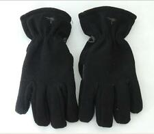 New Israel Military Army Fleece Winter Gear Gloves by Hagor Black Size M