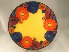 Art Deco Czech Pottery Mrazek Hand painted Plate