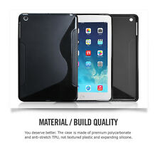 Durable,Slim-Fit Protective S TPU Case Film for iPad Mini 1 2 3 w/Retina Display