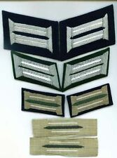 German Army Enlisted Bevo Collar Tabs Inf. Unmounted