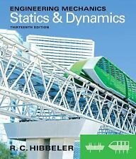 Engineering Mechanics Statics And Dynamics   by Russell C Hibbeler 13th Edition