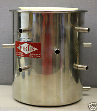 Virtis Research Equipment Freeze Dryer Stainless Steel 12-Port Manifold Drum