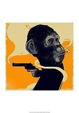 ART PRINT Gun Monkey Bezt