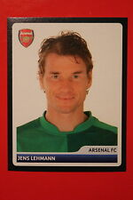 PANINI CHAMPIONS LEAGUE 2006/07 # 74 ARSENAL LEHMANN BLACK BACK MINT!