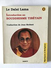 DALAI LAMA INTRODUCTION BOUDDHISME TIBETAIN 1989 HERBERT