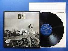 RUSH  PERMANENT WAVES mercury 80 /2/2 LP EX
