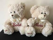 Personalised Teddy Bear Baby Gift Arrival, Get Well Gift, Mother's Day
