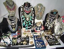 Vintage Costume Rhinestone Fashion Jewelry Lot Danacraft Napier Monet Cookie Lee