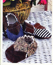 PATTERN - Quilted Baby Moccasins - Cute & easy bootie PATTERN - Curbys Closet
