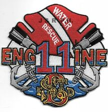 """St. Louis  Engine - 11  """"Water Rescue"""", MO  (4.25"""" x 4"""" size) fire patch"""