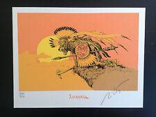 Ex Libris Mitton Quetzal Coatl Signé et Numéroté 250 ex ETAT NEUF
