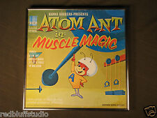 Atom Ant in Muscle Magic  Hanna Barbera Cover  W/Frame