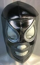 EL SANTO LUCHADOR/WRESTLER MASK!! CLASSIC ICON!! GREAT HANDMADE MASK!! AWESOME!!