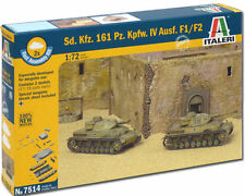 ITALERI Sd Kfz 161 Pz Kpfw IV F1 7514 1:72 Tank Model Kit