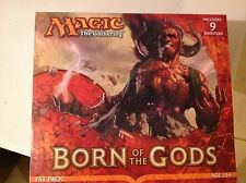 MAGIC THE GATHERING  BORN OF THE GODS FACTORY SEALED FAT PACK