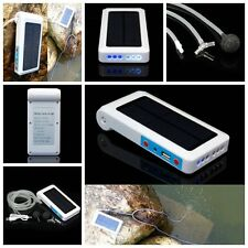 Solar Powered Panel Oxygen Oxygenator Air Pump Aerator Water Pond Fish Tank