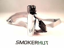 CHEEKY ONE SMOKERS CLUB - Metal Chrome Case & Lanyard + FREE CLIPPER LIGHTER